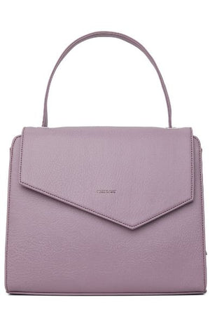 Women's Minji Vegan Satchel Handbag Amethyst Purple Matt and Nat
