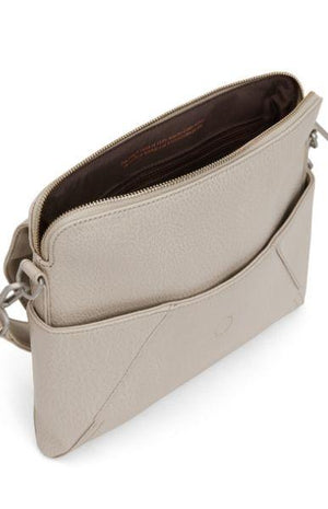 Matt and Nat Women's Minka Vegan Hobo Bag with Detachable Strap Beige