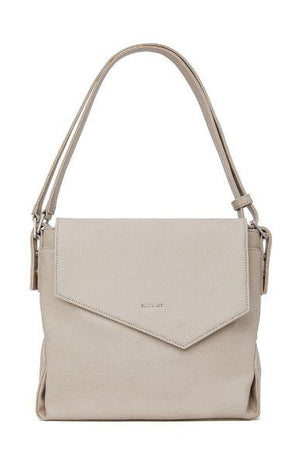 Matt & Nat Women's Monkland Vegan Hobo Bag Nude Koala Matte Nickel