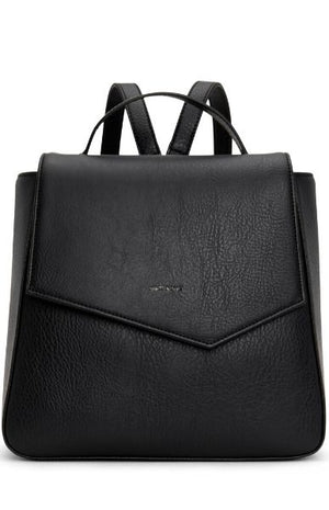 Matt & Nat Women's Quena Vegan Backpack Black