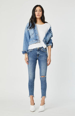Mavi - Rosa Cropped Denim Jacket