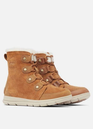 SOREL EXPLORER JOAN Camel Brown, Ancient Fossil