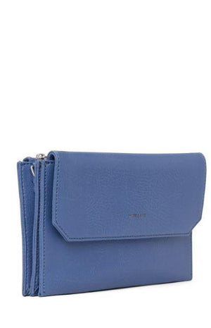 Matt & Nat Suky Women's Vegan Crossbody Bag Lake Blue
