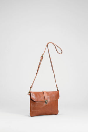 Tan Las Small Leather Women's Bag by ELK