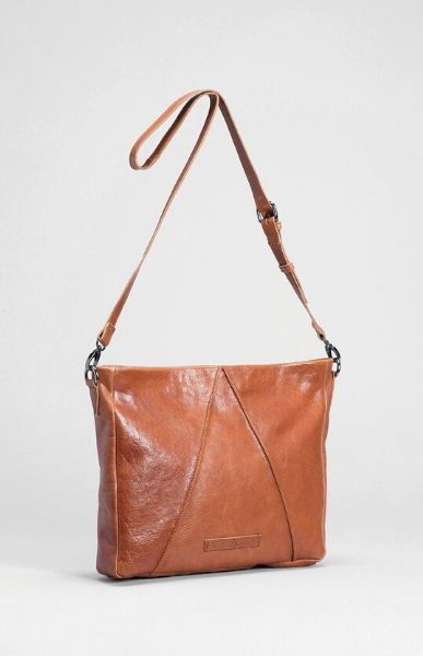 Tan Lennik Large Leather Bag ELK Women's Handbag