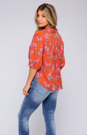 Free People - Tie Front Blouse