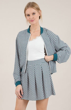 Molly Bracken - Graphic Print Jacket