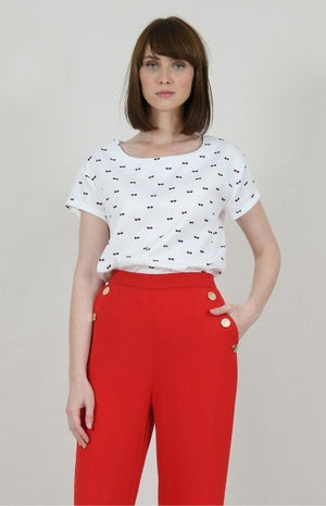 Molly Bracken Printed T