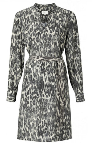 YAYA - Leopard Print Dress