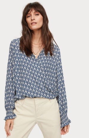 Maison Scotch - Wrap Over Top