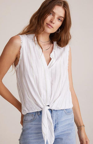 Bella Dahl - Tie Front Button Down