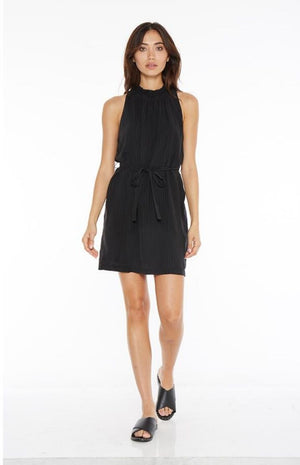 Bella Dahl - Smocked Tie Waist Dress