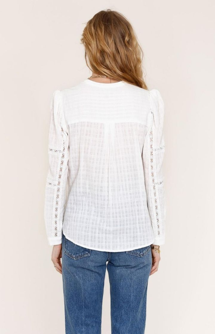 Heartloom Brenna Lace Panel Top