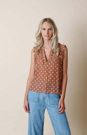 indi & cold - Polka Dot Blouse
