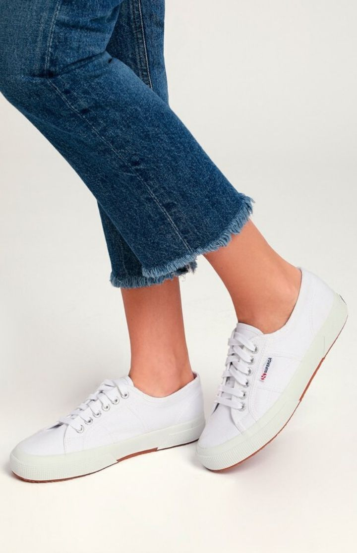 Superga Cute Classic COTU Black Canvas Sneaker