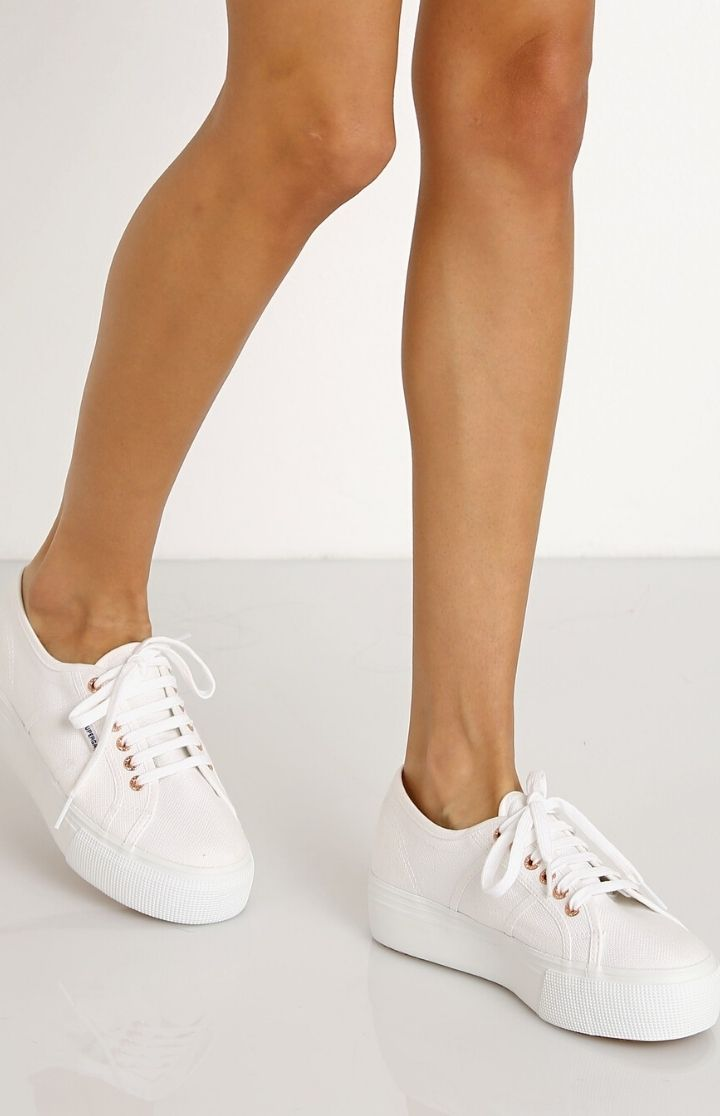 Superga 2790A Up And Down White Sneaker