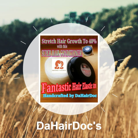 DaHairDoc's Fantastic Hair Elastic (tm) Hair Growth, Hair Stretcher & Hair Loss Prevention Cream