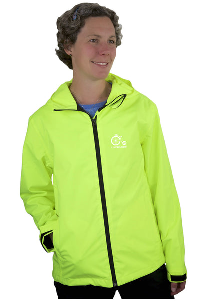 Adult Women's Jacket with reflective graphics on back and sleeves (choose from kids jacket designs)