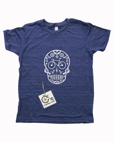 Sugar Skull Bike Face T-shirt