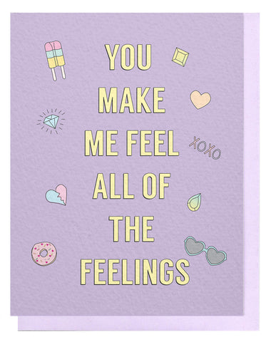 All of the Feelings Card