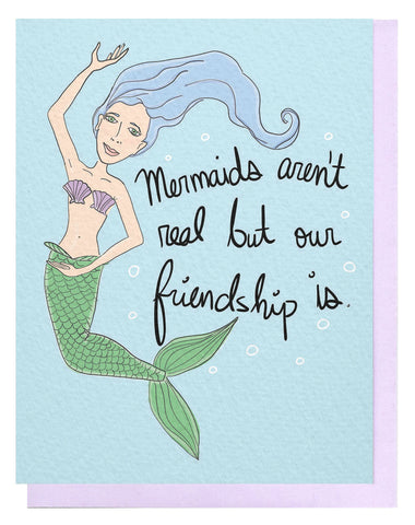 Mermaids Aren't Real Card
