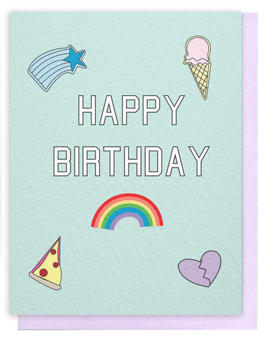 Birthday Patches Card