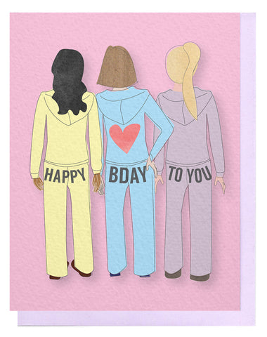 Birthday Butts Card