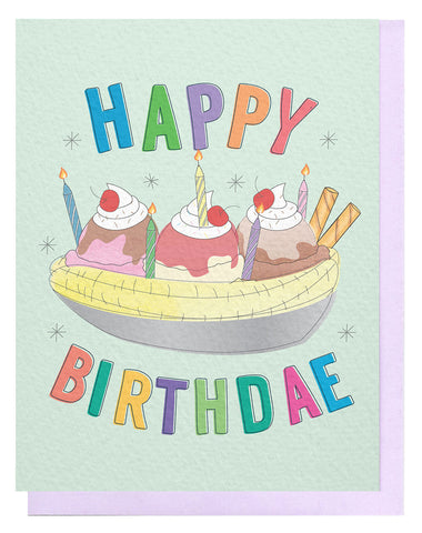 Birthday Sundae Card