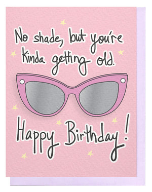 Shady Birthday Card