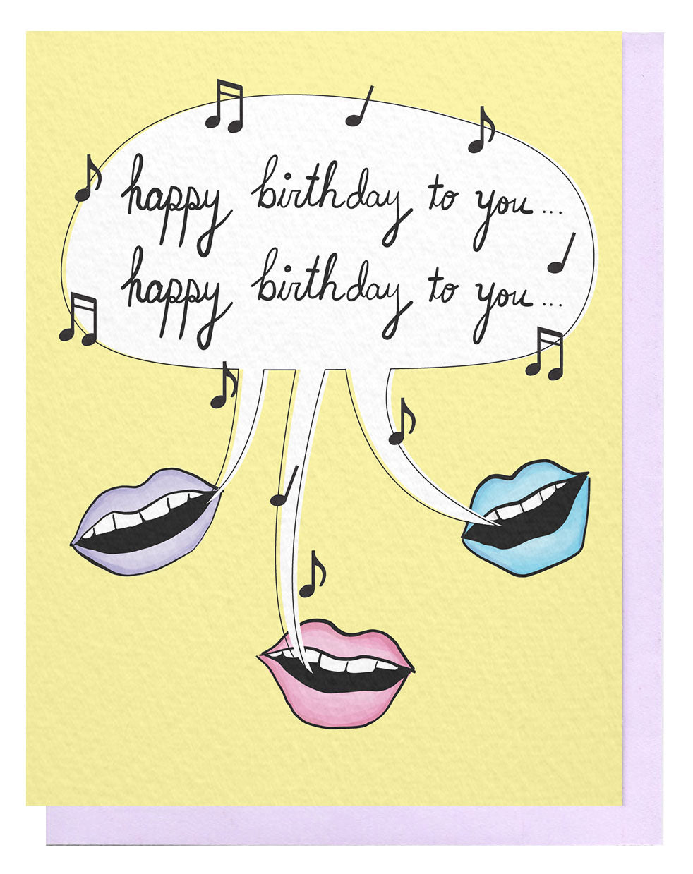 Bday Song Card