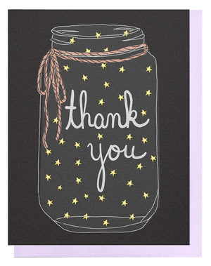 Thank You Star Jar Card