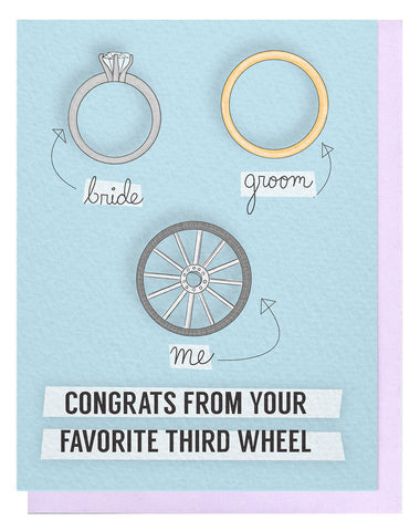 Third Wheel Card