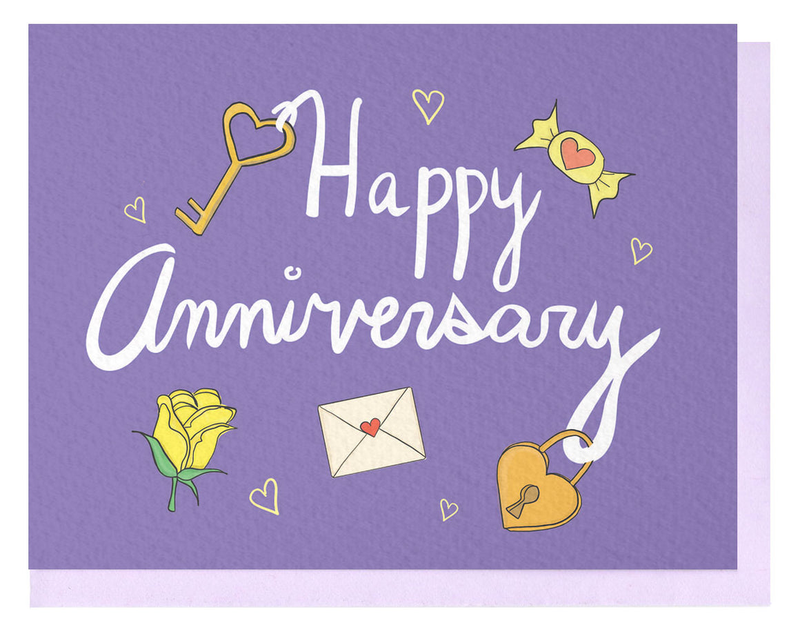 Anniversary Charms Card