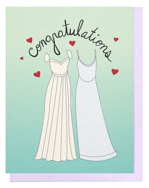 Congrats Dress + Dress Card