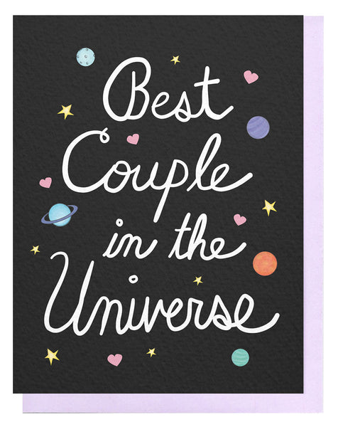 Best Couple In The Universe Card