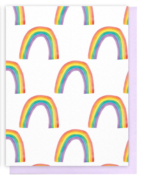 Rainbow Pattern Card