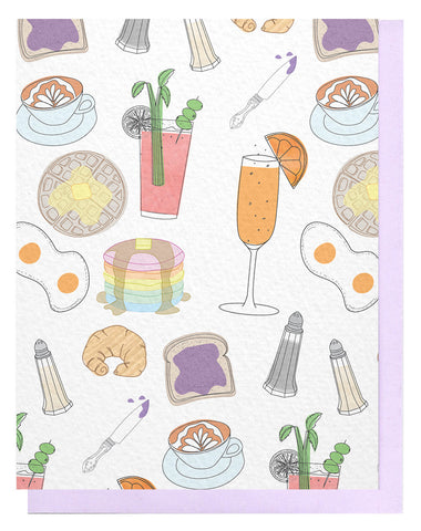 Brunch Pattern Card