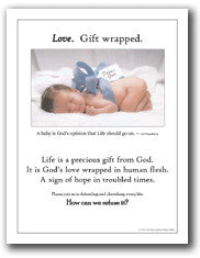Love Gift Wrapped Mini-Poster/Ad