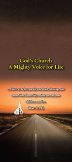 God's Church - A Mighty Voice for Life