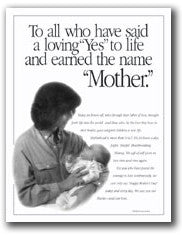 Mother's Day Mini-Poster/Ad