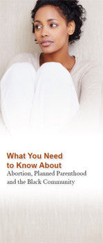 What You Need to Know Brochure: African-American Version
