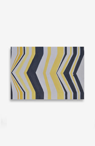 Citron Chevron 27 X 37