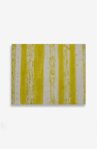 Yellow Stripes 29.5 x 36.5