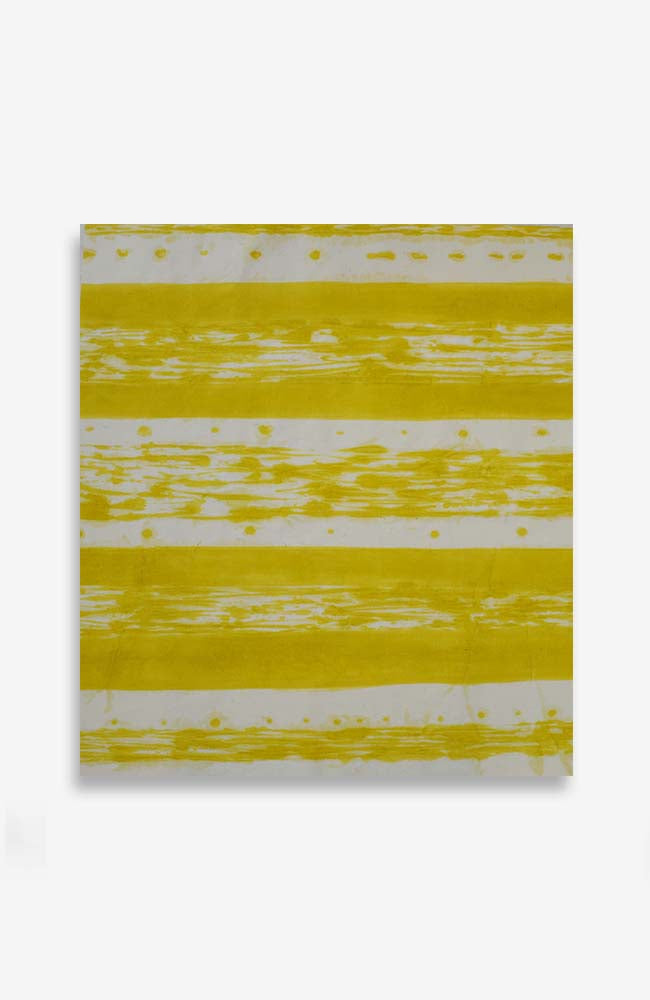 Yellow Stripe 33.5 x 36.5