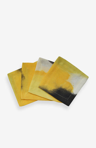 Cocktail Napkins - Naples Yellow