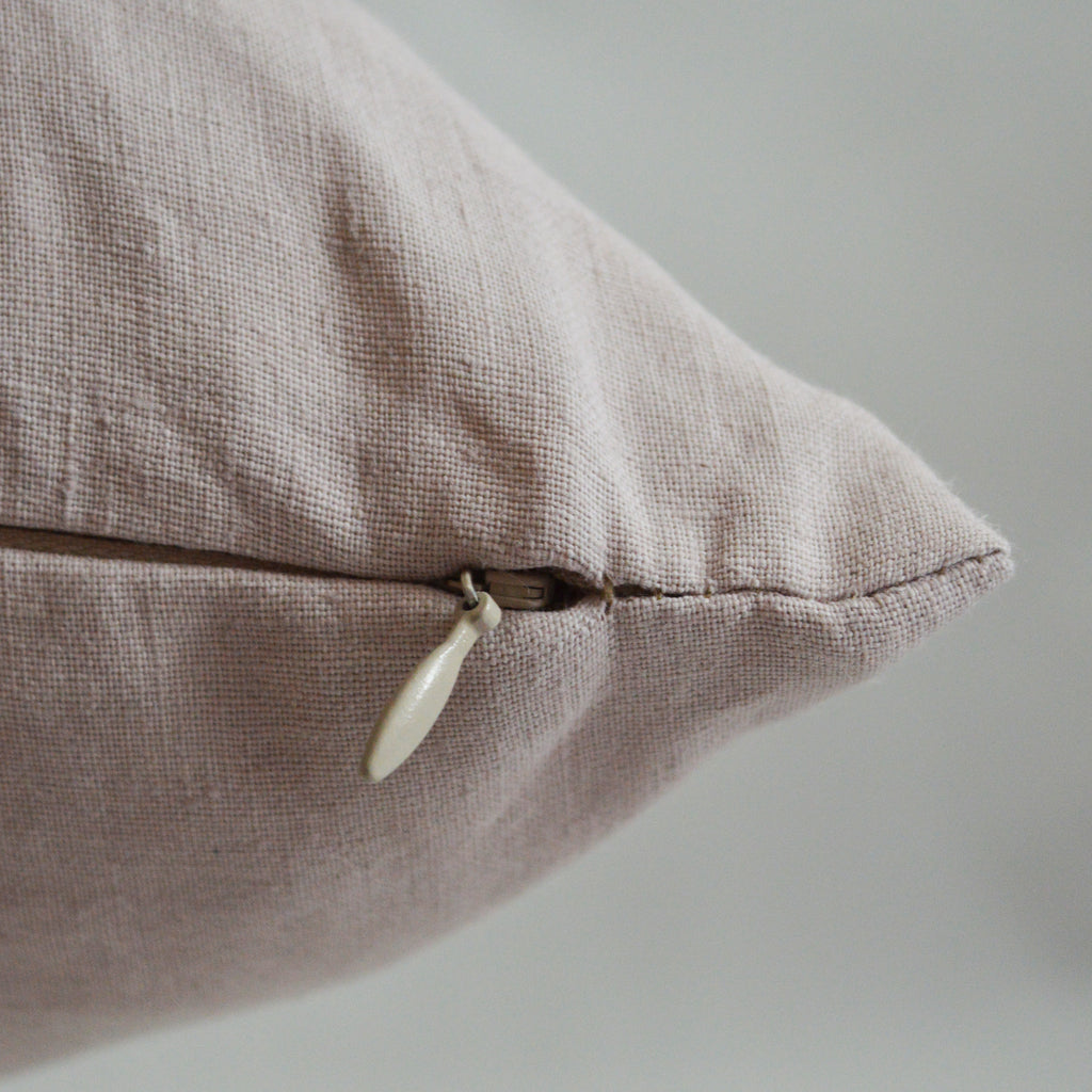 Stitch in Mauve on Linen