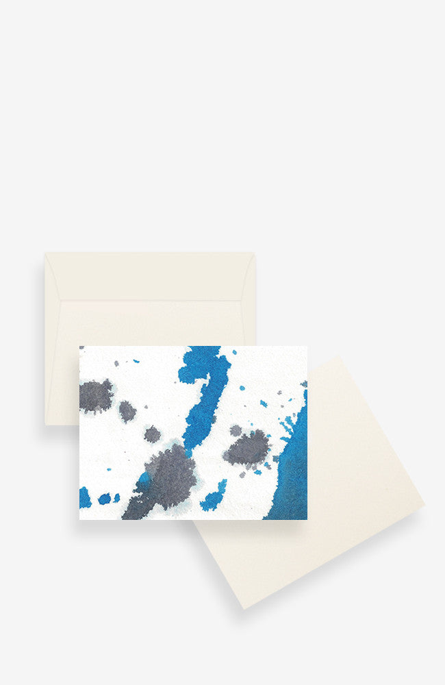 Notecard Set -  Bleu
