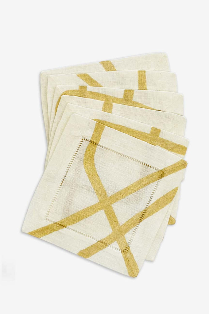 Form Cocktail Napkins - Set of Six