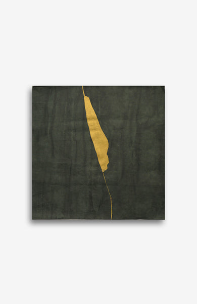 GOLD AND EMERALD KINTSUGI 25X25