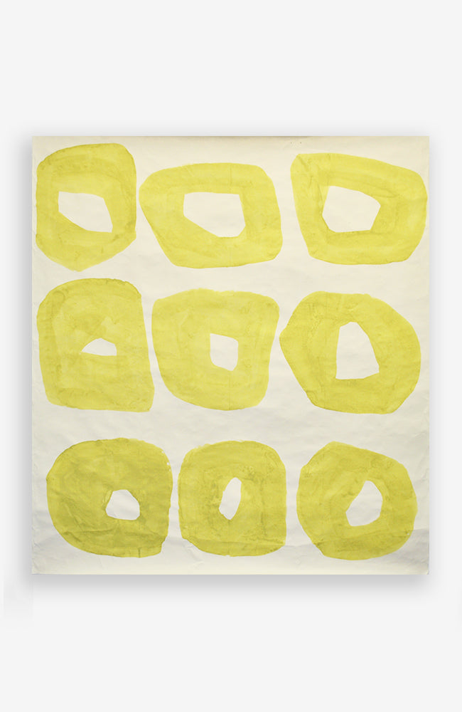 Cadmium Yellow Organic Rings 38 x 43